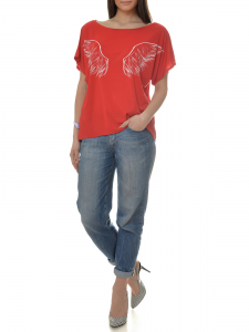 T-SHIRT RED ANGEL