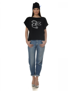 TSHIRT BABY ANGEL BLACK