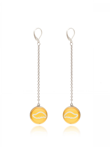 YELOW LONG EARRINGS
