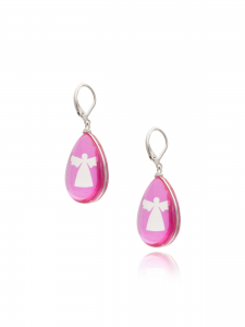 PINK ANGELS SHORT EARRINGS