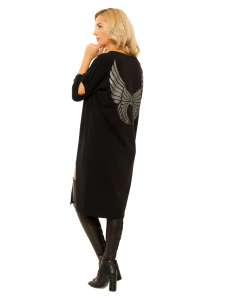 SPLIT WINGS DRESS