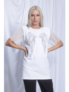 TSHIRT WITH EMBROIDERY